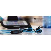 SMS Audio Sport In-Ear Kopfhörer Stereo Headset Mikrofon Blau