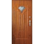 Drzwi stalowe z przeszkleniem HAWAJE