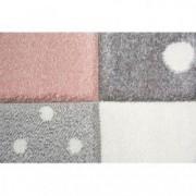 Covor Merinos Pastel Kids 20339 255-Roz 80 x 150 cm densitate covor 3 KG/m grosime covor 13 mm COVORAS BAIE CADOU