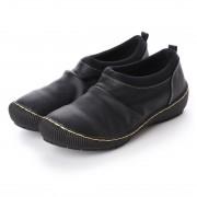 ウイルソンリー WILSON LEE カジュアルシューズ (ブラック) レディース