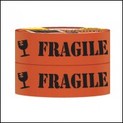 SELLOTAPE 993702 FRAGILE TAPE 48MM X 75M PACK 2