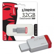 Kingston 32GB DT USB 3.0 DT50/32GB metal - crveni