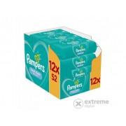 Pampers Fresh Clean vlažne maramice, 12x52