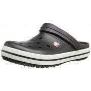 Crocs Unisex Black Slip-On Clog - M8W10