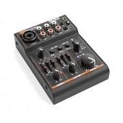PDM-D301BT Mixer de 3 Canais Mesa de Mistura USB Bluetooth Alimentação Fantasma