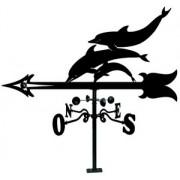 Veleta Tejado de hierro Delfines 900 mm.