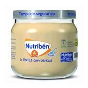 Boião multifrutas com cereais 130g - Nutriben