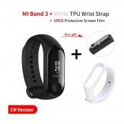 mi Band 3 pulsera inteligente Fitness pulsera pantalla táctil OLED mensaje ritmo cardíaco banda int