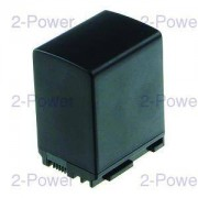 2-Power Videokamera Batteri Canon 7.2v 2100mAh (BP-827)