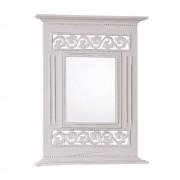 Wandspiegel Romantisch verziert Weiß