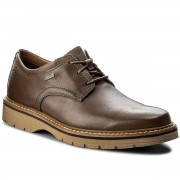 Обувки CLARKS - Newkirk Go Gtx GORE-TEX 261218887 Brown Leather