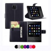 BlackBerry Passport Wallet Кожен Калъф + Протектор