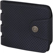 Martell Genuine Black Buckle Lock Leather Wallet For Men/Boys