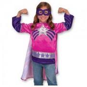 Детски Костюм Супер герой за момиче, 14784 Melissa and Doug, 000772147842