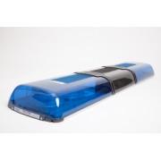 Rampa lumini xenon (stroboscopica) 12V cu difuzor si sirena 100W incluse - lungime 1194mm
