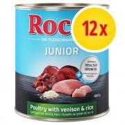 Rocco Fai scorta! Rocco Junior 12 x 800 g - Manzo e Pollame senza cereali