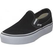 Vans Ua Classic Slip-on Platform Black, Skor, Lågskor, Slip on, Svart, Dam, 41