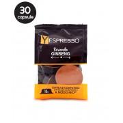 30 Capsule Yespresso Ginseng – Compatibile A Modo Mio