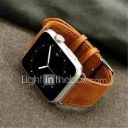 Horloge band voor appelhorloge 38mm 42mm klassieke gesp leder vervanging band