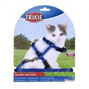 Nylonový postroj pro koťata jednobarevný 19-31cm/8mm TRIXIE