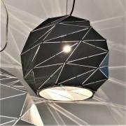 Kosiluz Lámpara colgante con hexágonos negra - Amos