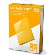 HDD eksterni Western Digital My Passport Yellow 4TB, WDBYFT0040BYL
