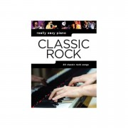 Music Sales Really Easy Piano - Classic Rock - 20 Classic Rock Songs