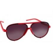 Polaroid Aviator Sunglasses(Black)