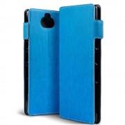 Qubits - slim wallet hoes - Sony Xperia 10 Plus - Lichtblauw