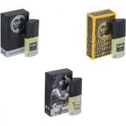 Skyedventures Set of 3 Kabra Black-Kabra Yellow-Romantic Perfume