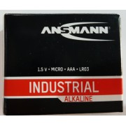10er Pack ANSMANN Industrial Micro AAA Alkaline 1,5V