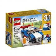 LEGO Creator Blue Racer 3-in-1 Model: Rebuilds Into A Smart Snowplow Or A Cool Buggy Order Now! With E-book Gift@