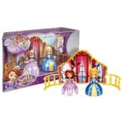 Princess Sofia & Amber Dancing Sisters ~3 2-Doll Playset - Disney Sofia the First Series