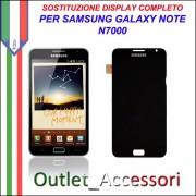 Sostituzione Display Samsung NOTE 1 N7000 Lcd Vetro Schermo Rotto Riparazione Cambio Assemblaggio GT-N7000