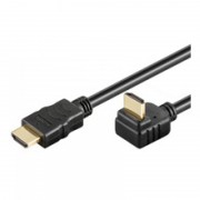 Cablu HDMI 1.5m 19p-19p gold 90 grade