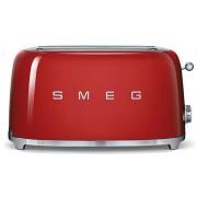 Smeg TSF02RDEU retro 4-szeletes kenyérpirító - piros