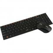 Комплект клавиатура и мишка RAPOO 9060,Безжичен, Черен RAPOO-11356