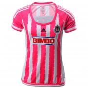 Jersey Adidas De Las Chivas Del Guadalajara Para Dama Rosa Women