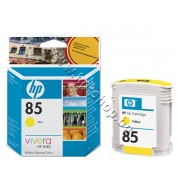 Мастило HP 85, Yellow (69 ml), p/n C9427A - Оригинален HP консуматив - касета с мастило