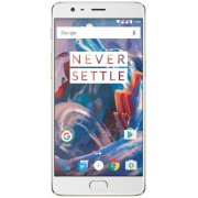 "Telefon Mobil OnePlus 3 A3000, Procesor Quad-Core 2.15GHz / 1.6GHz, Optic Amoled Capacitive touchscreen 5.5"", 6GB RAM, 64GB Flash, 16MP, Wi-Fi, 4G, Dual Sim, Android (Auriu) + Cartela SIM Orange PrePay, 6 euro credit, 4 GB internet 4G, 2,000 minute nation"