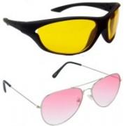 Hrinkar Sports Sunglasses(Yellow, Red)