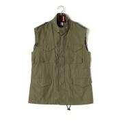 【79%OFF】N-65 JOY DIVISION ノースリーブジャケット カーキ s ファッション > メンズウエア~~ジャケット