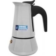 Vishnu Essentials Atlasware 2 2 Cups Coffee Maker(Silver)