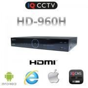 DVR rekordéry s 8 vstupy, real time 960H, VGA, HDMI