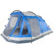 CampFeuer - Tunnelzelt, blau/grau, 5 Personen, 3000 mm WS