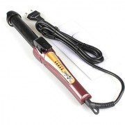1 Kemei Hair Care Curler Curl Curling Iron Rod Brush Styler Straightener 40W -15