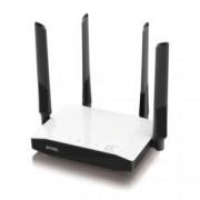 Рутер ZyXEL NBG6604, 1200Mbps, 2.4GHz(300 Mbps) / 5GHz(867 Mbps), Wireless AC, 4x LAN100, 1x WAN100, 4x външни антени