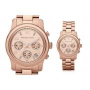 Michael Kors MK5128 Ladies Rose Gold Runway Watch