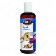 Aceite de hígado de bacalao con aceite de cardo Trixie para mascotas - 2 x 250 ml - Pack Ahorro