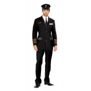 Dreamguy Mile High Captain Hugh Jorgan Costume 5236
